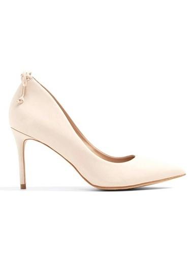 Aldo Nubuk Stiletto Ayakkabı Bej